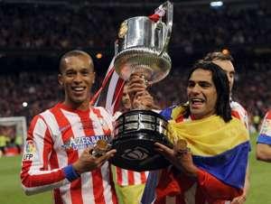 Falcao Campeón Copa del Rey Atlético Madrid 2013
