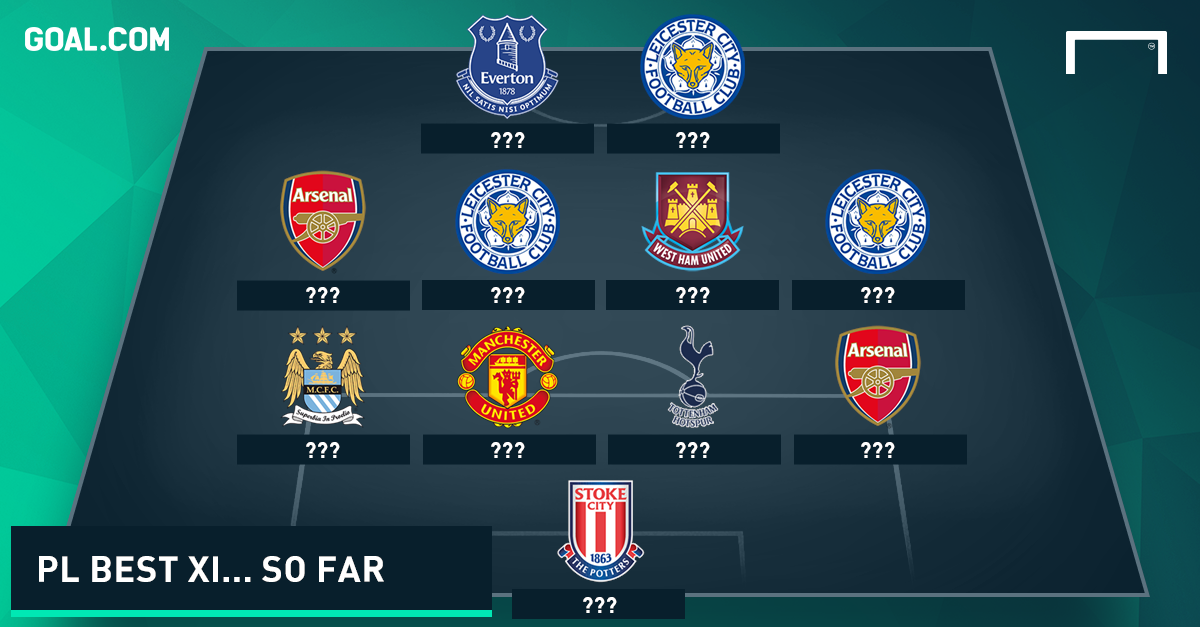 The BEST Premier League XI of the season so far