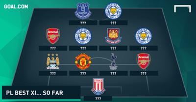 The BEST Premier League XI of the season so far