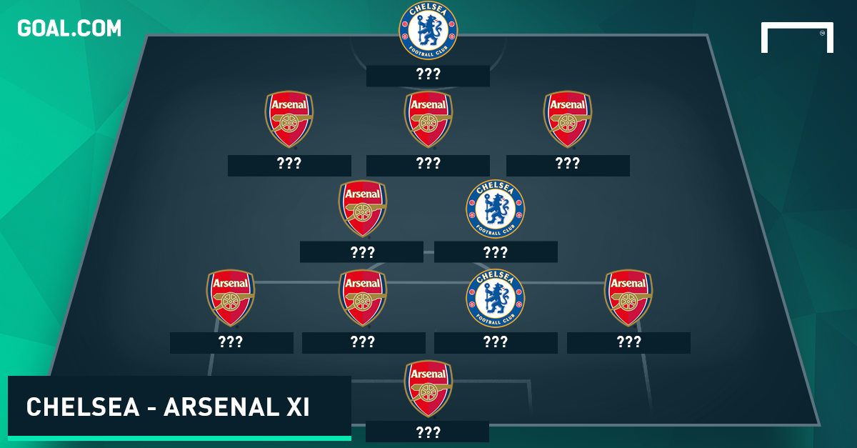 Chelsea - Arsenal combined XI