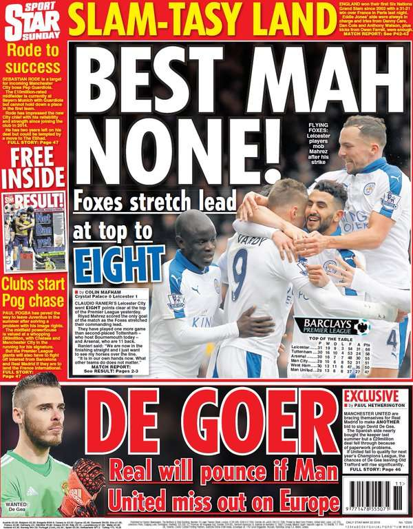 The Star on Sunday Mar 20