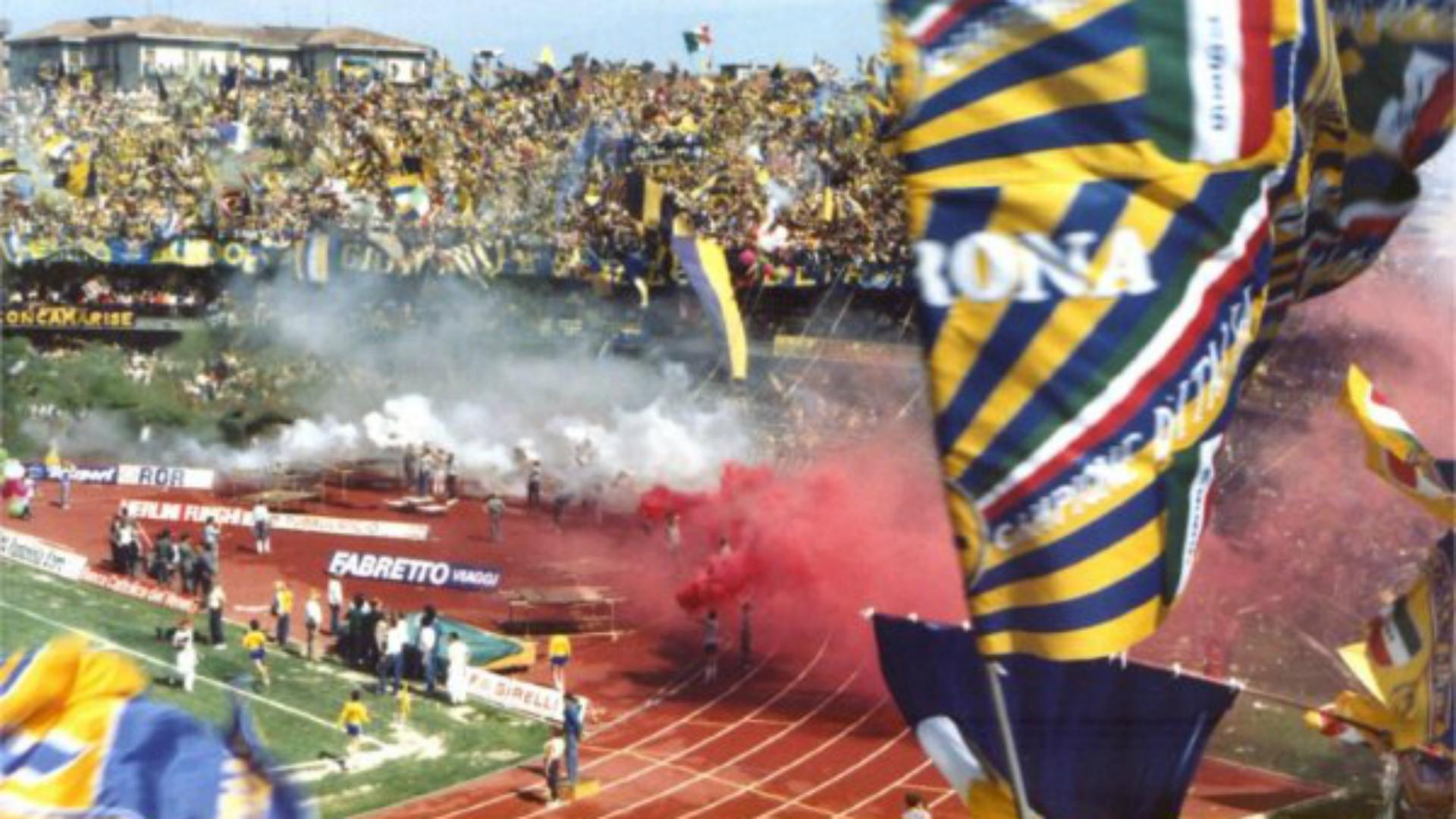 Hellas Verona winning Serie A in 1985