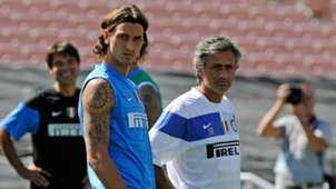 Jose Mourinho & Zlatan Ibrahimovic