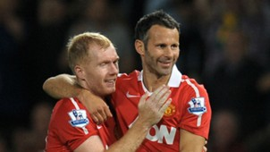 Paul Scholes; Ryan Giggs Manchester United