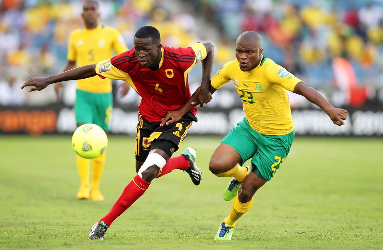 South Africa Angola - Afcon 2013