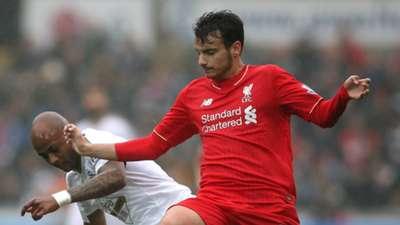 Pedro Chirivella Liverpool Swansea Premier League 01052016