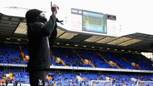 Emmanuel Adebayor Tottenham Crystal Palace 21022016