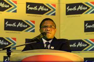 Mr Fikile Mbalula, South African Minister of Sport and Recreation
