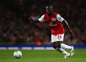 Arsenal midfielder Emmanuel Frimpong