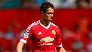 Javier Hernandez Manchester United 22082015
