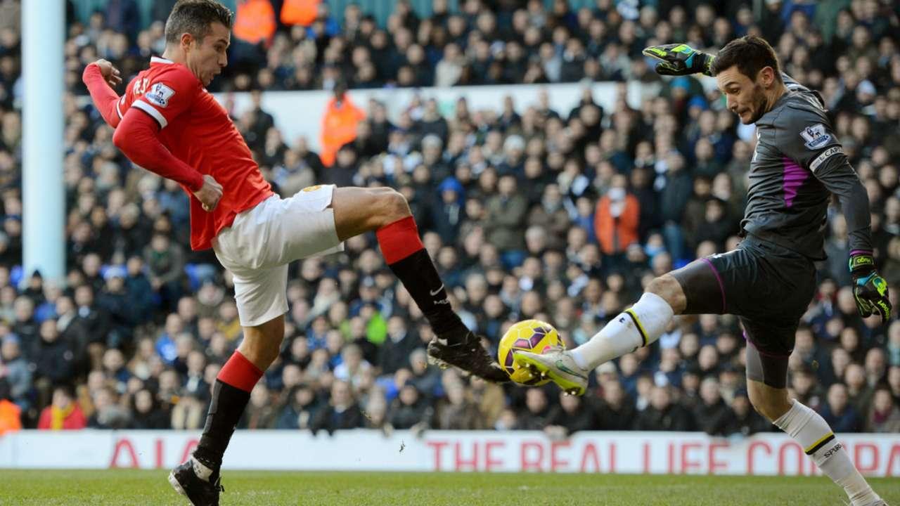Hugo Lloris & Robin van Persie | Tottenham 0-0 Manchester United