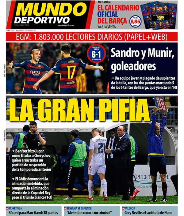 European Newspaper Review | El Mundo Deportivo