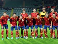 Under 21 International Friendly - Italy U21 v Spain U21, Spain team