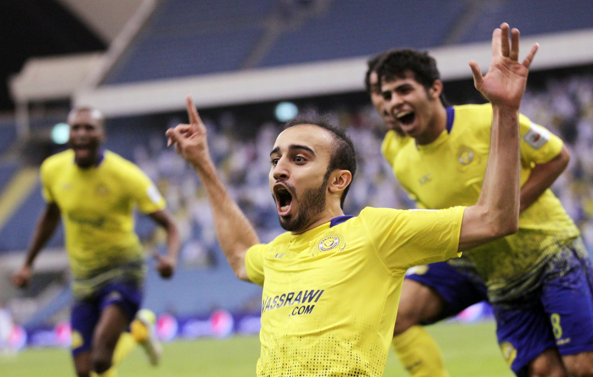 محمد السهلاوي وفرحة الهدف