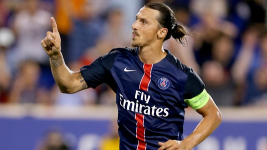 Zlatan Ibrahimovic Paris-Saint Germain