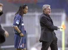 Ronaldinho Luis Fernandez Paris SG