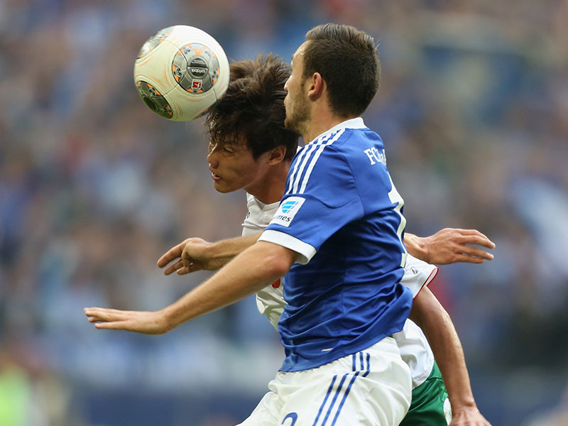 Hong Jung-Ho Schalke Augsburg Bundesliga 10052013