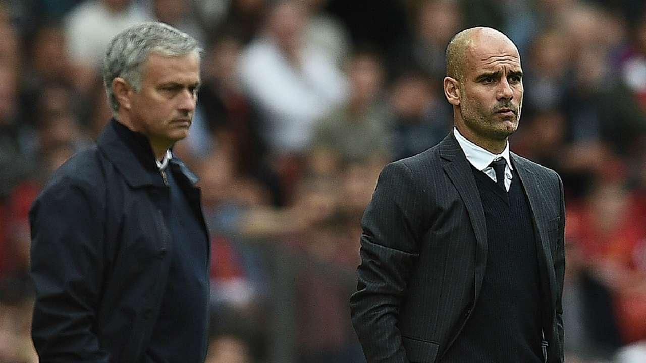 HD Jose Mourinho Pep Guardiola