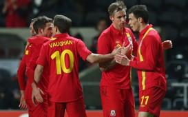 Wales:Gareth Bale,Jack Collison,David Vaughan,Joe Allen
