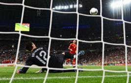 Sergio Ramos , Rui Patricio , Spain v Portugal , Euro 2012