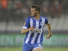 Nick Powell, SV Zulte Waregem v Wigan Athletic FC - Europa League