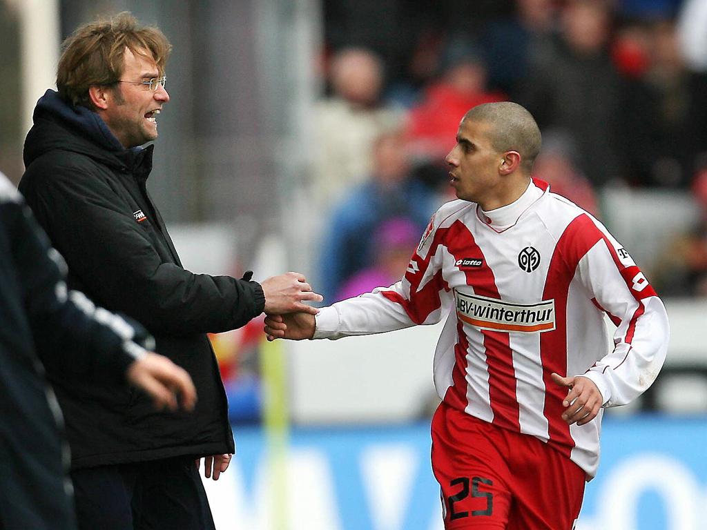 Jürgen Klopp Mohamed Zidan FSV Mainz 05 02242007