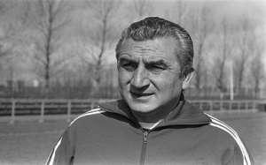 Miguel Muñoz, mítico entrenador del Real Madrid