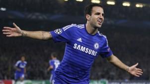 Cesc Fabregas Champions League Chelsea v Schalke 170914