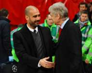 Guardiola and Wenger