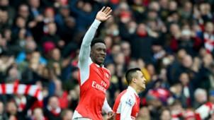 Danny Welbeck Arsenal v Leiceste