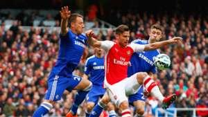 Olivier Giroud John Terry Arsenal Chelsea 26042015
