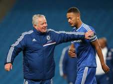 Dermot Drummy Lewis Baker Manchester City v Chelsea  Barclays U21 Premier League 05142014