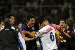 Boca - Godoy Cruz - Chiqui Perez - Curbelo - violencia