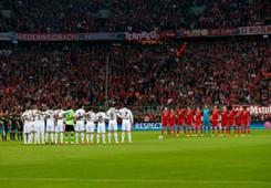 Silence Tribute Vilanova Bayern Munich Real Madrid Champions League Semi Final 04292014
