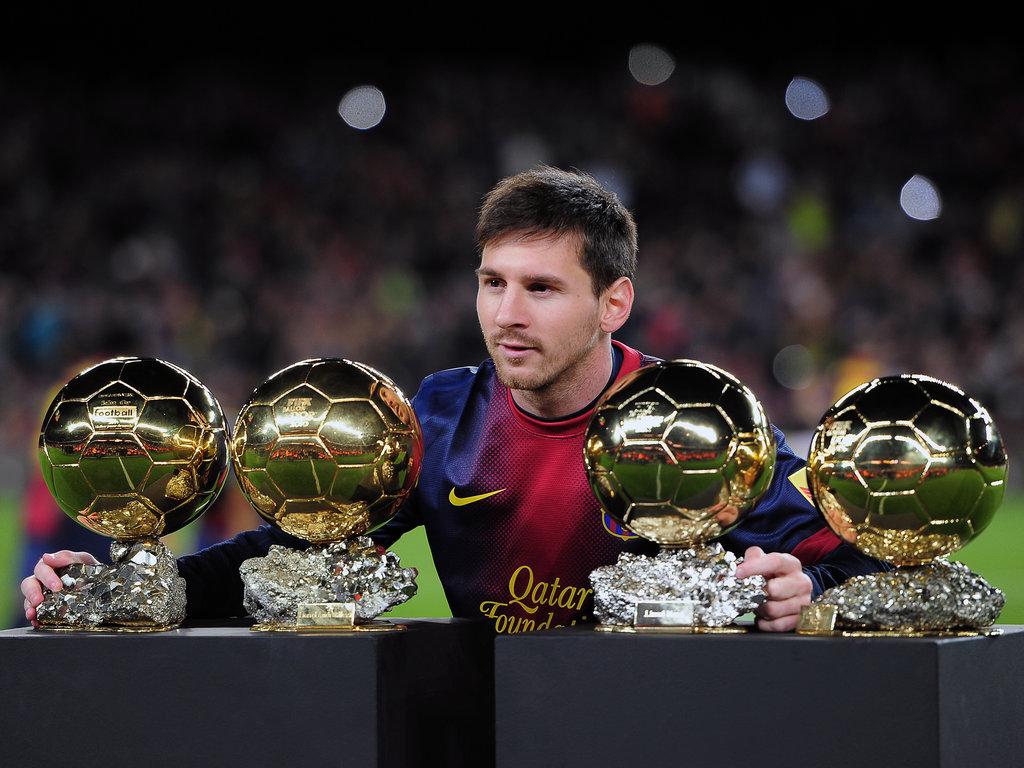 ليونيل ميسي الكرة الذهبية