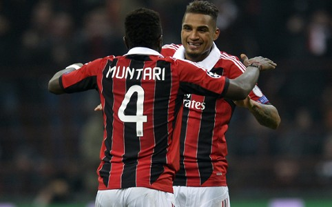 Muntari & Boateng - Milan