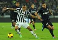 Arturo Vidal Saphir Taider Juventus Inter Serie A