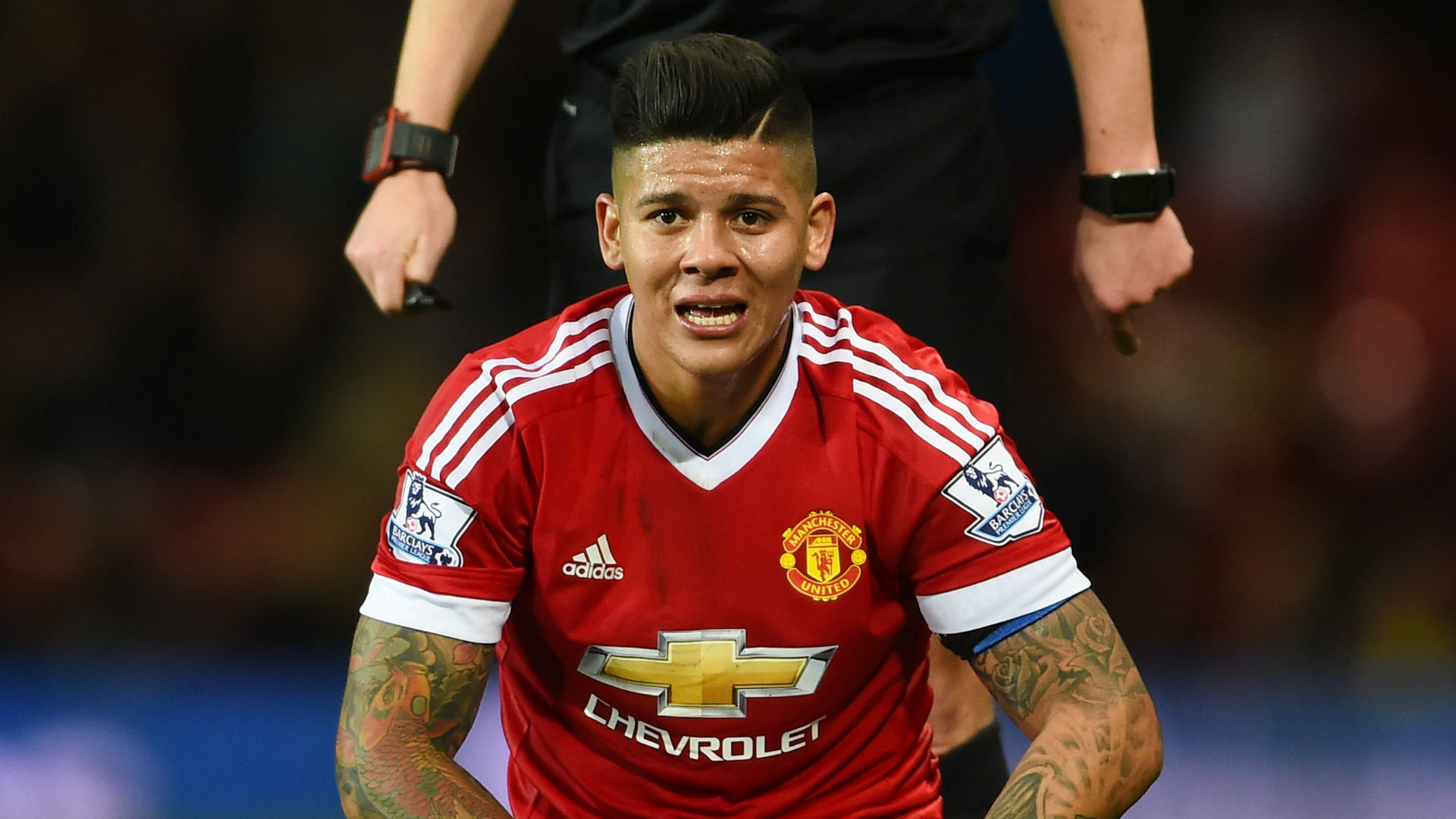 Marcos Rojo Pondering Upon Manchester United Future As Club