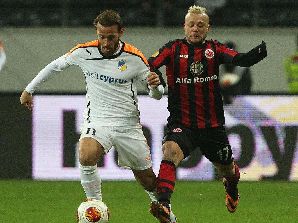 Eintracht Frankfurt v APOEL Stephan Schrock Europa League 12122013