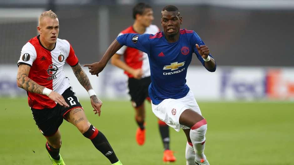 HD Karsdorp Pogba Feyenoord Man Utd