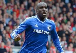 Demba Ba Liverpool vs Chelsea