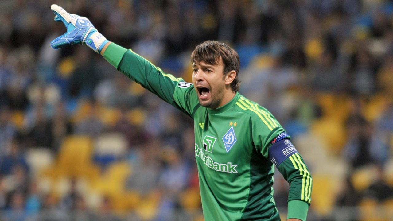 Oleksandr Shovkovskiy Dynamo Kiev Champions League