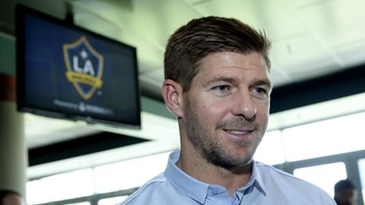 Steven Gerrard LA Galaxy unveiling 07072015
