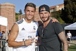Cristiano Ronaldo & David Beckham
