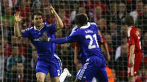 Ivanovic's big Chelsea goals | Liverpool | 2008-09