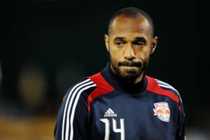 New York Red Bull striker Thierry Henry