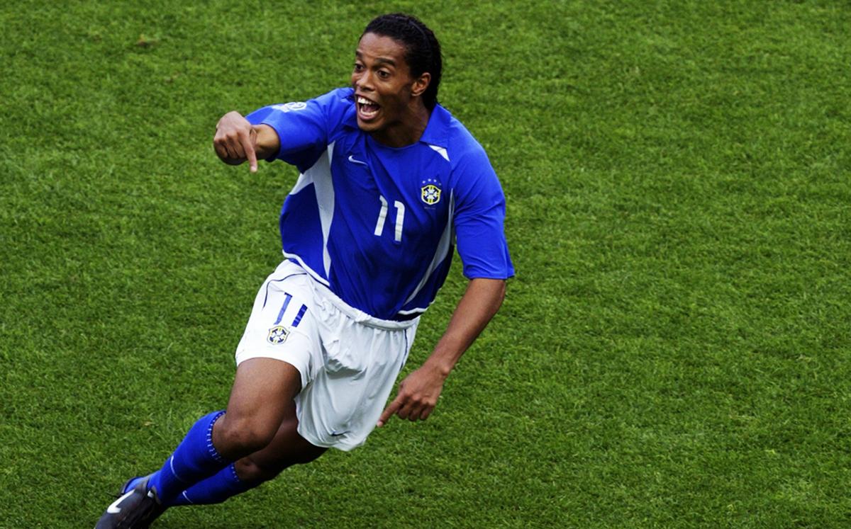Ronaldinho Gaúcho - Brasil x England 2002, World Cup
