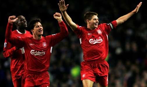 Steven Gerrard , Xabi Alonso , Liverpool 2005