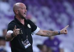 Al Jazira coach Walter Zenga