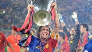 Carles Puyol Barcelona Champions League